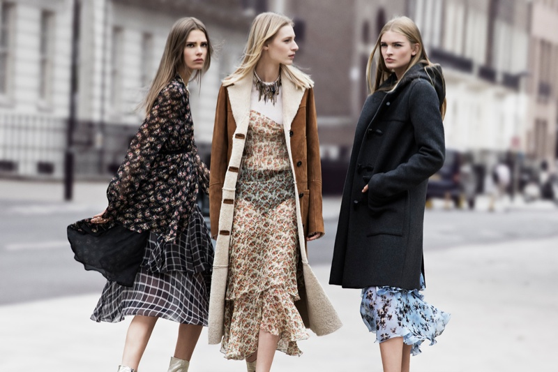 zara fall ads3 Zara Heads to the Streets for Fall 2013 Ads with Julia Nobis, Caroline Brasch Nielsen & More