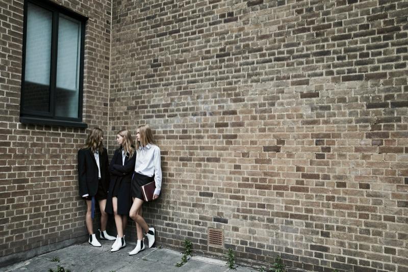 zara trf fall2 Zara TRF Fall 2013 Ads Star Ondria Hardin, Kirstin Liljegren & Tilda Lindstam