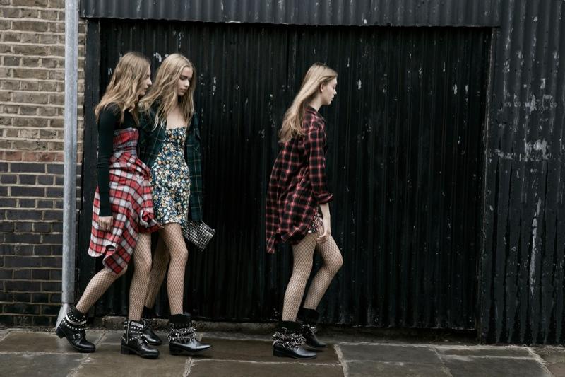 zara trf fall3 Zara TRF Fall 2013 Ads Star Ondria Hardin, Kirstin Liljegren & Tilda Lindstam