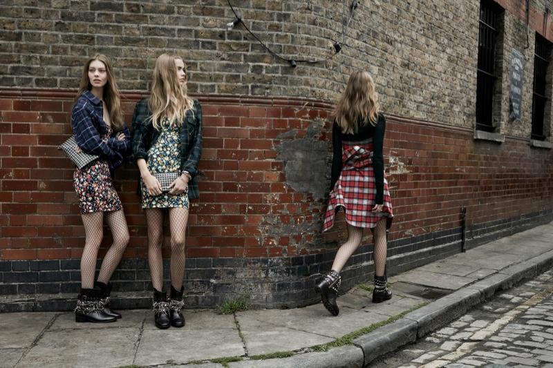 zara trf fall6 Zara TRF Fall 2013 Ads Star Ondria Hardin, Kirstin Liljegren & Tilda Lindstam