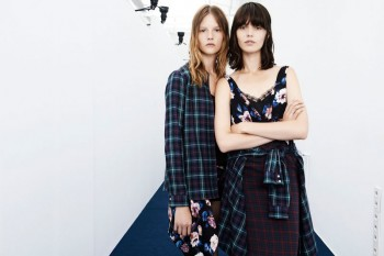 Zara TRF Evokes Grunge for August/September Lookbook