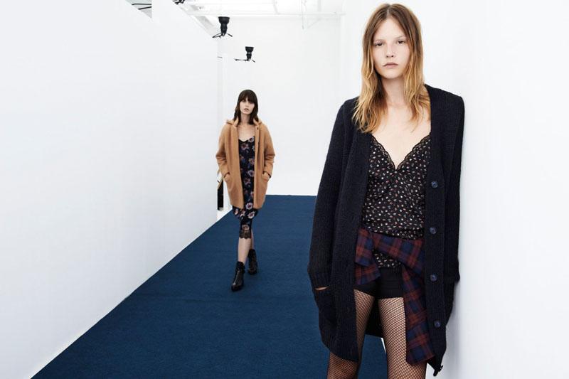 Zara TRF Evokes Grunge for August/September Lookbook