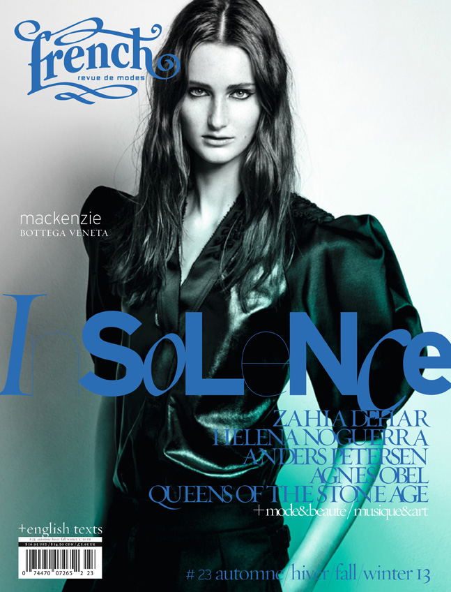 01 French23 Cover mackenzie French Revue de Modes #23 Covers | Soo Joo, Mackenzie Duncan, Lara Mullen + More