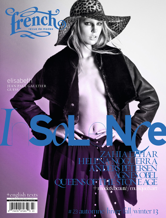 04 French23 Cover elisabeth French Revue de Modes #23 Covers | Soo Joo, Mackenzie Duncan, Lara Mullen + More