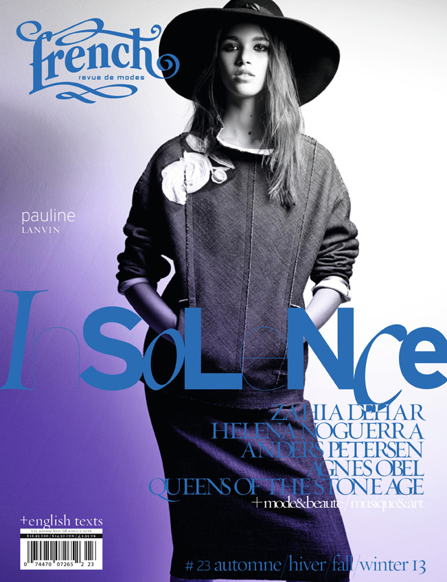 10 French23 cover Pauline  French Revue de Modes #23 Covers | Soo Joo, Mackenzie Duncan, Lara Mullen + More