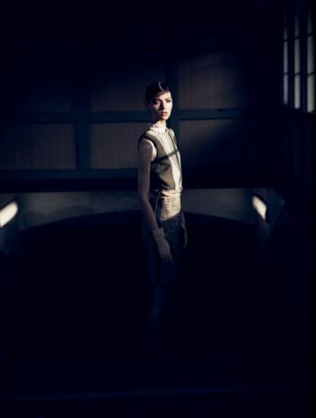 Marikka Juhler Stars in Elle Denmark September 2013 by Oliver Stalmans