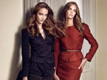 Zuzanna Bijoch & Gertrud Hegelund Star in Sarar's Fall 2013 Campaign
