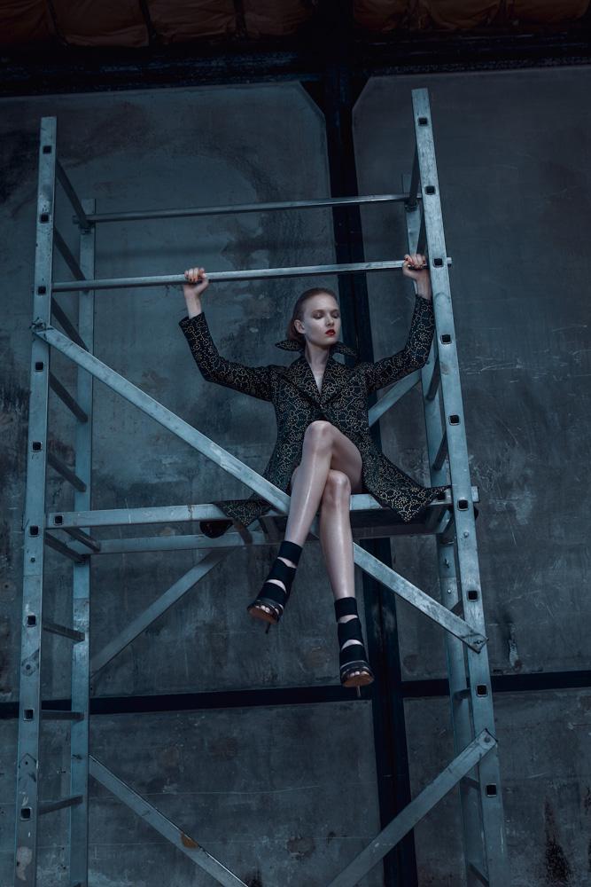 Alaia n 3 Maja Salamon Wears Azzedine Alaia for Viva! Moda by Michelle Du Xuan
