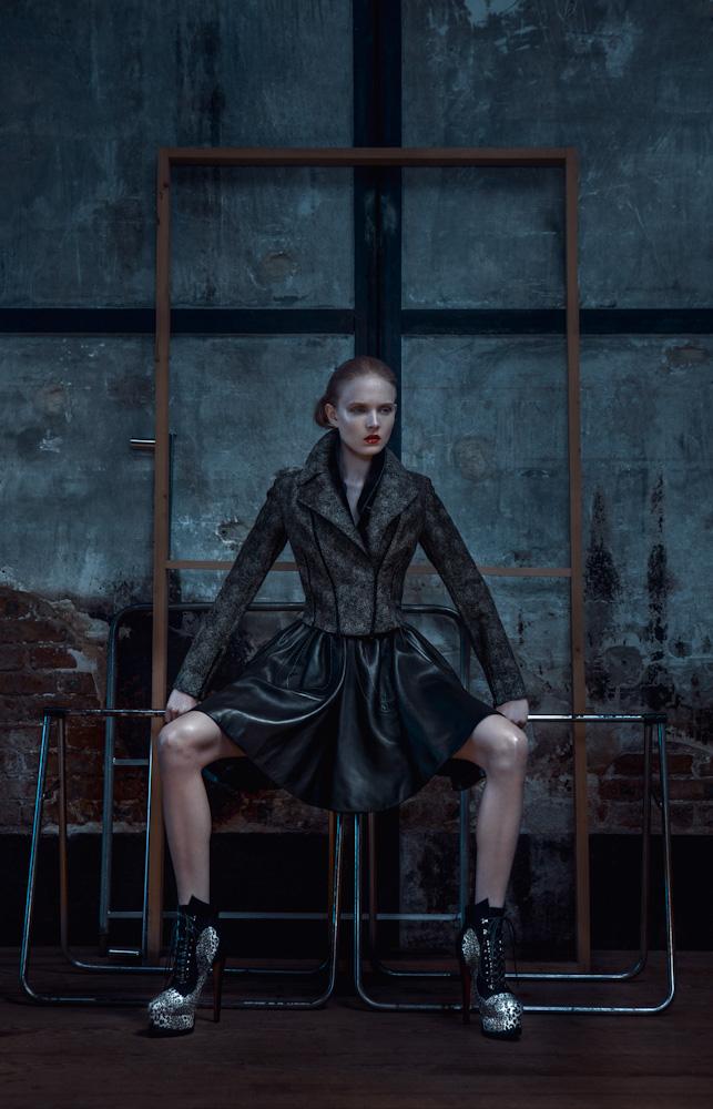 Alaia n 4 Maja Salamon Wears Azzedine Alaia for Viva! Moda by Michelle Du Xuan