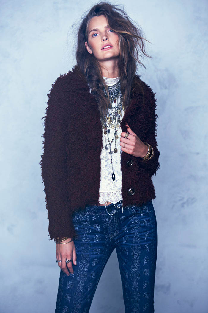 Free People Folk Tale September LB 2 Gertrud Hegelund Models Folk Style for Free Peoples September Lookbook