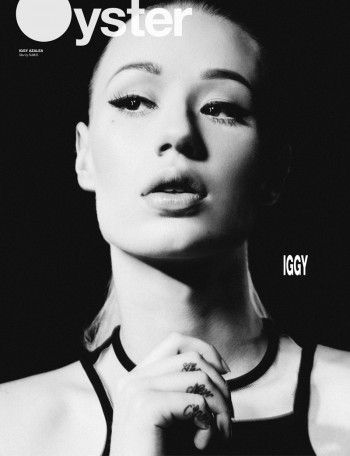 Iggy Azalea Gets Her Close-up for Oyster #103 Cover
