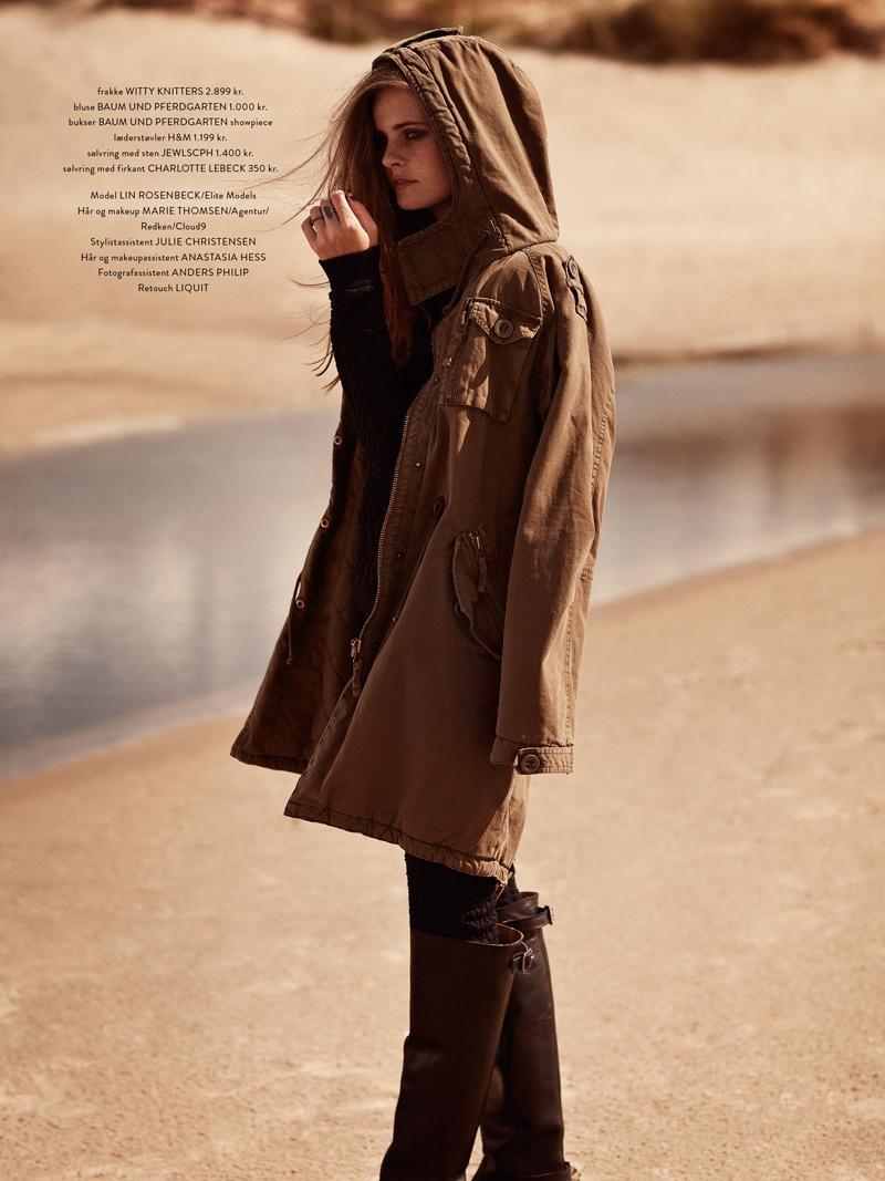 Lin Rosenbeck Goes Outdoors for Costume Magazine by Hordur Ingason