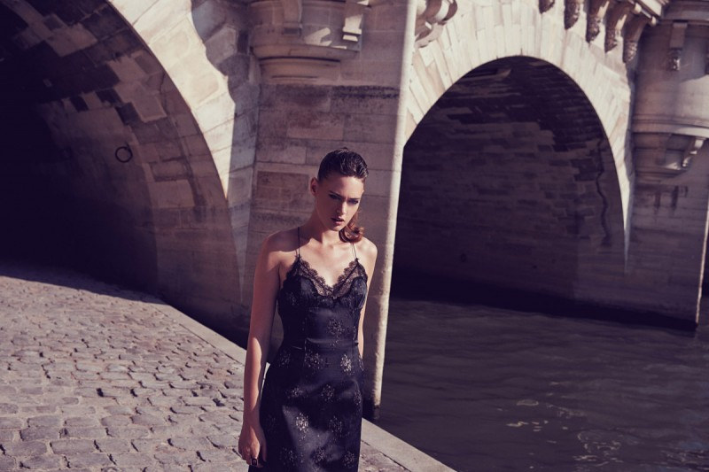 MC CHINA 12 800x533 Sarah Emilia is Parisian Chic for Marie Claire China by Dennison Bertram
