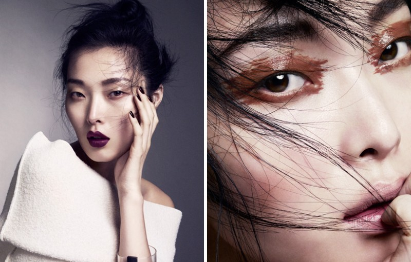 MO vogueC sung 3 800x511 Marcus Ohlsson Zooms in on Sung Hee Kim for Vogue China Beauty Feature
