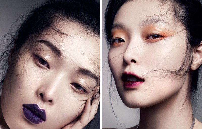 MO vogueC sung 5 800x511 Marcus Ohlsson Zooms in on Sung Hee Kim for Vogue China Beauty Feature