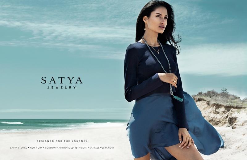 Varsha Thapa Stars in Satya Jewelry Fall 2013 Ads by Daniel Garriga