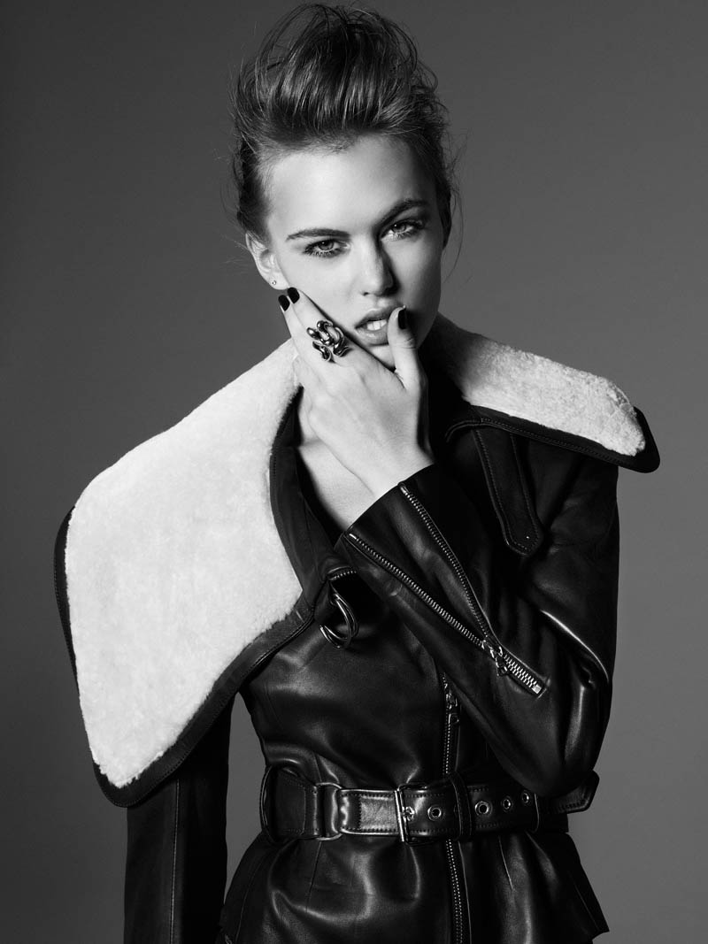 Katiusha & Sian Get Dolled Up for Marie Claire Latin America by Vladimir Marti