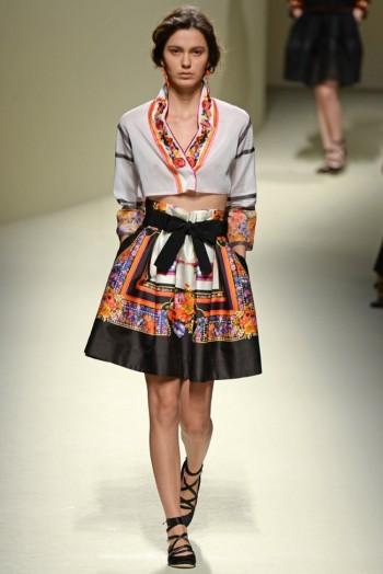 Milan Fashion Week Spring/Summer 2014 Day 1 Recap | Alberta Ferretti, Dsquared2, Gucci + More