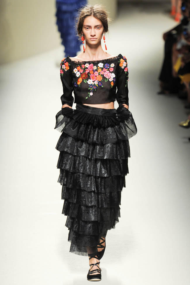 Alberta Ferretti Spring 2014   Milan Fashion Week