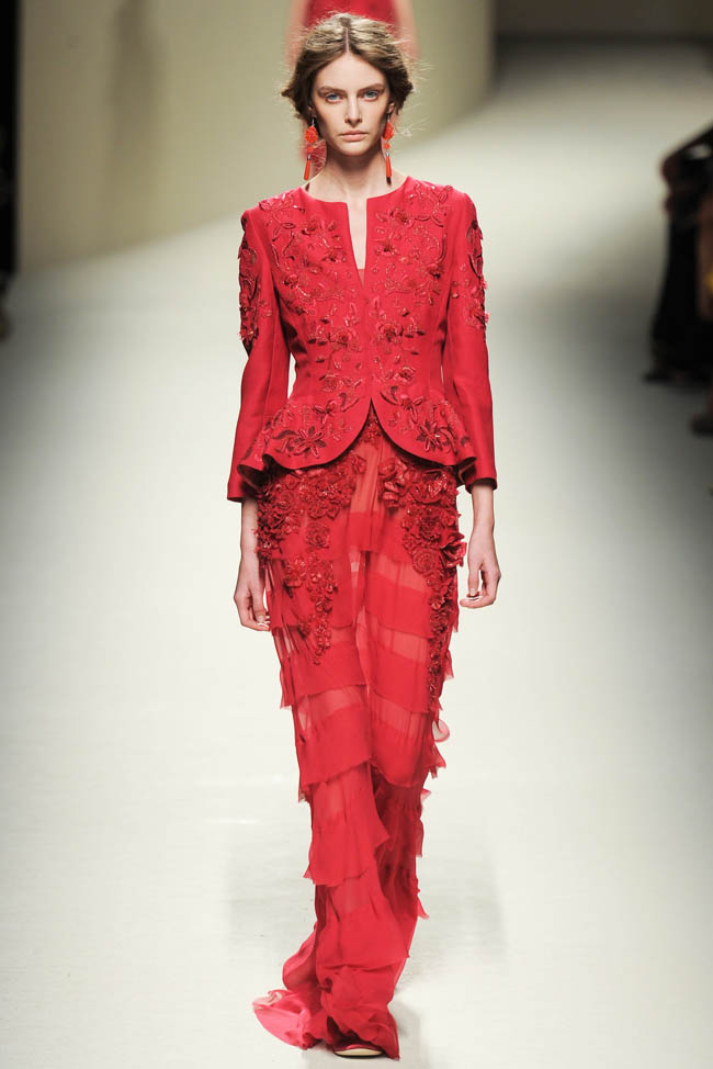 alberta ferretti spring 2014 45 5 Amazing Milan Fashion Week Spring/Summer 2014 Trends