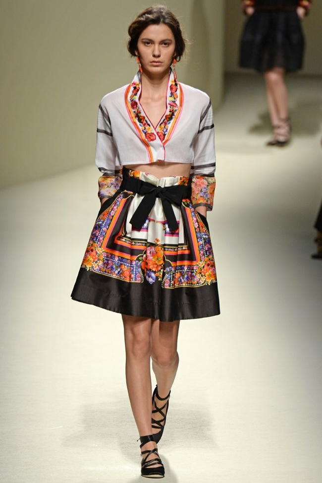 Milan Fashion Week Spring/Summer 2014 Day 1 Recap | Alberta Ferretti, Dsquared2, Gucci + More