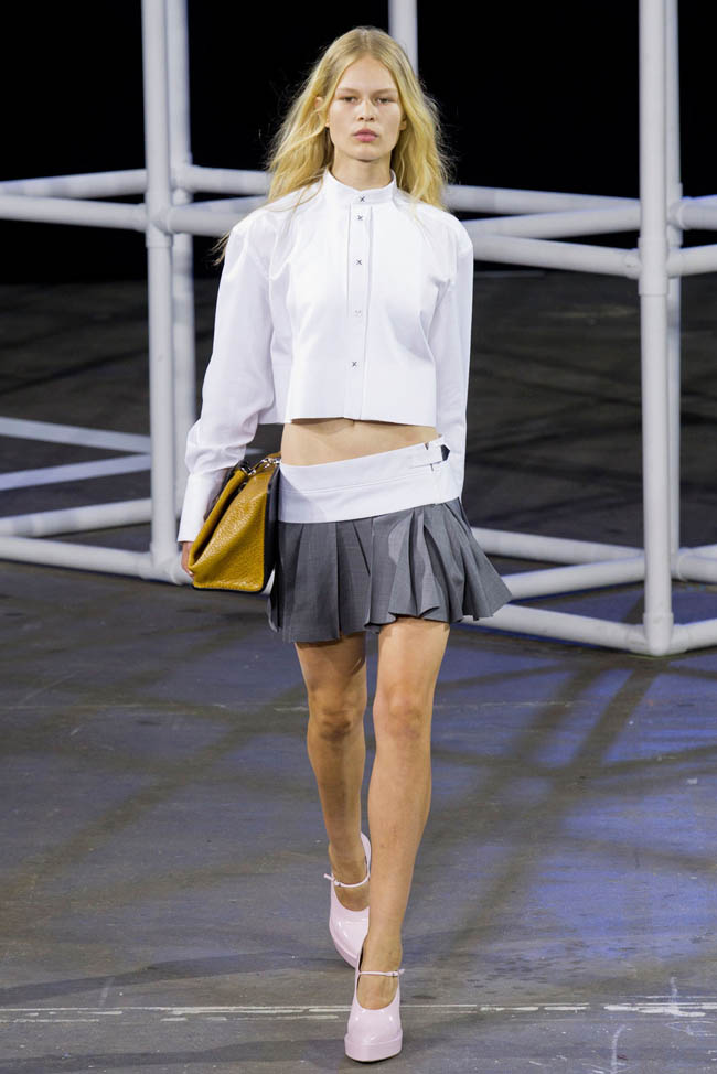 Alexander Wang Spring 2014 | New York Fashion Week