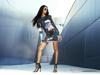 Anais Mali Models Galactic Style for Revolve Clothing's Fall Lookbook