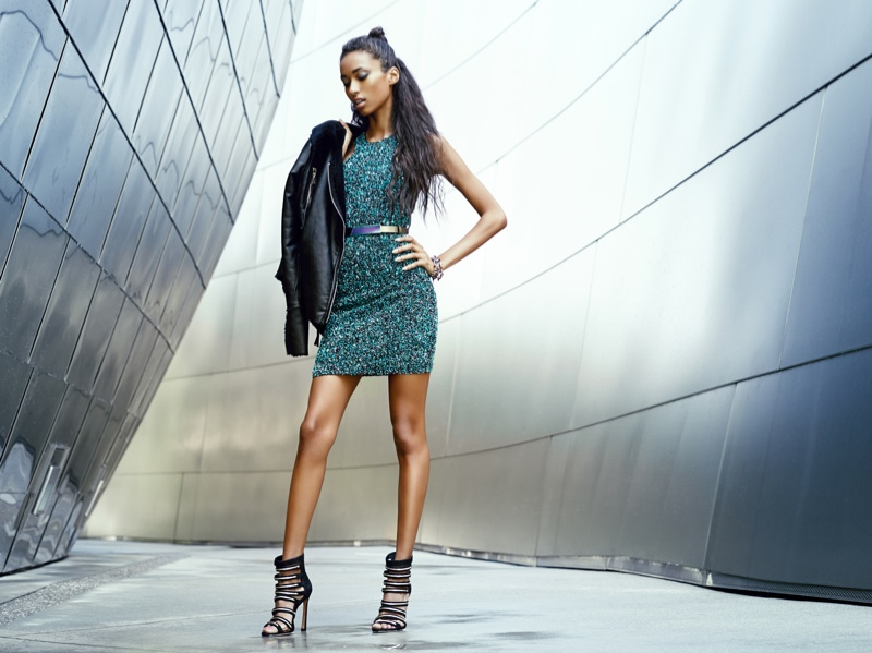 anais mali model5 Anais Mali Models Galactic Style for Revolve Clothings Fall Lookbook