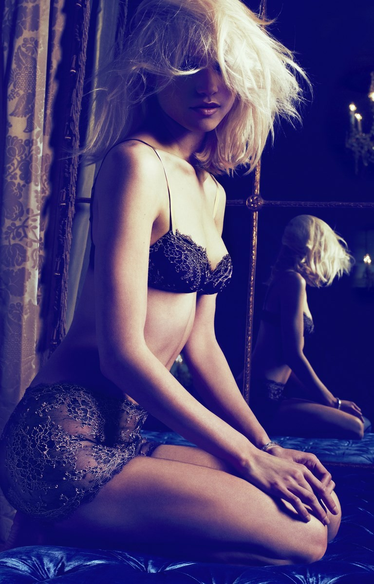 andres sarda fw2 Hana Jirickova Seduces for Andres Sarda F/W 2013 by Txema Yeste