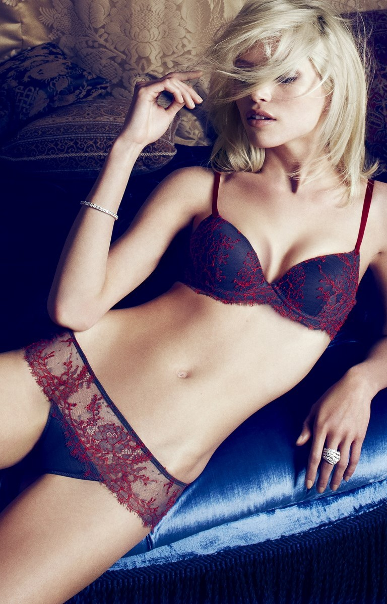 andres sarda fw4 Hana Jirickova Seduces for Andres Sarda F/W 2013 by Txema Yeste