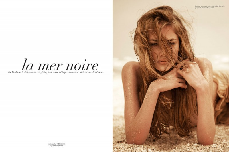 anna roos 800x533 Anna Roos van Wijngaarden by Tibi Clenci in La Mer Noire for Fashion Gone Rogue