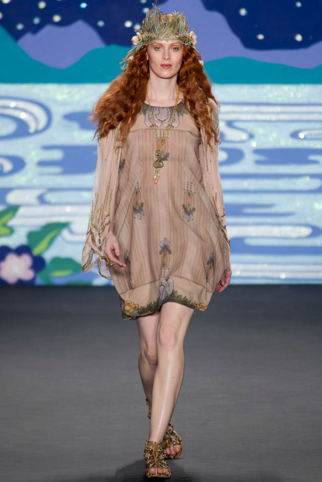 anna sui spring 2014 1 Anna Sui Spring 2014 | New York Fashion Week