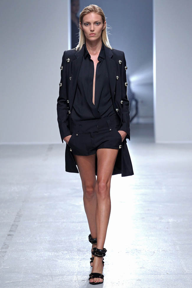anthony vaccarello spring 2014 l1 Anthony Vaccarello Spring/Summer 2014 | Paris Fashion Week