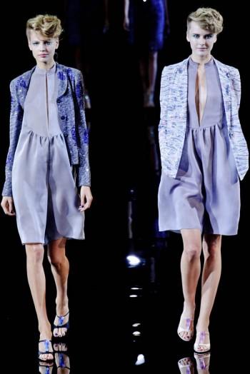 Giorgio Armani Spring 2014 | Milan Fashion Week