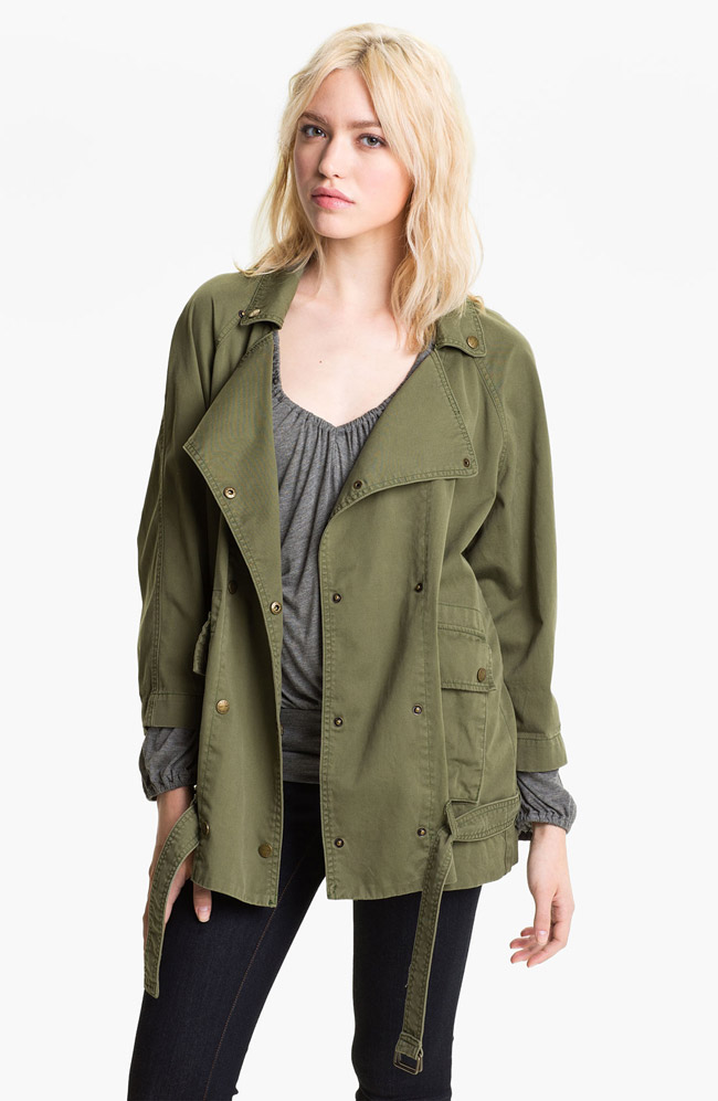 army jacket 9 Grunge Looks of the Season