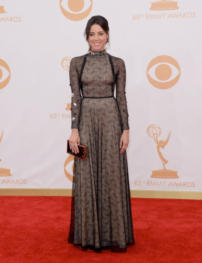 aubrey plaza mario schwab Kerry Washington in Marchesa, Claire Danes in Armani + More EMMY Award Style