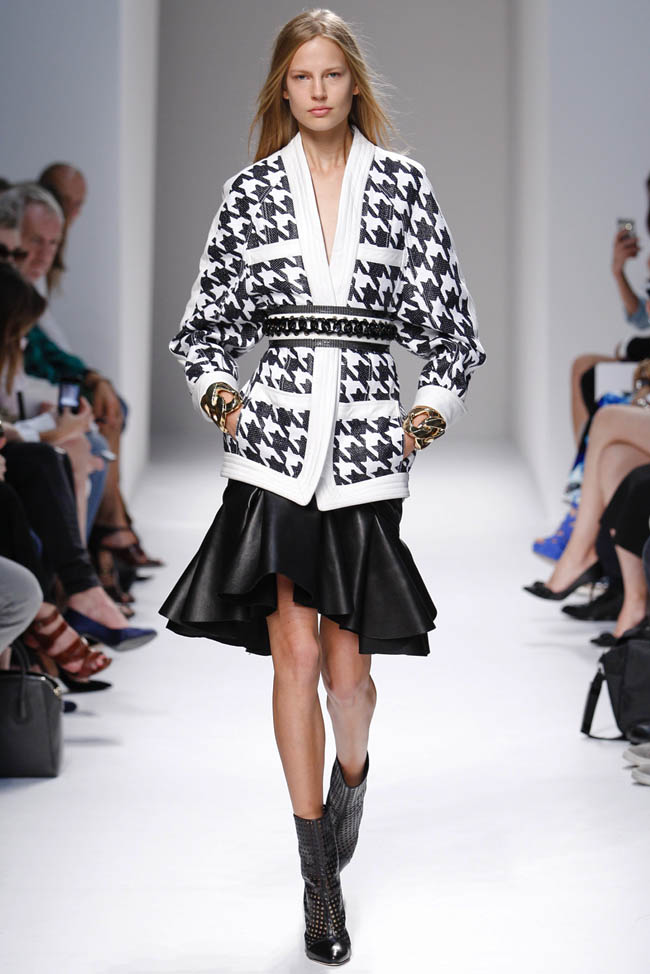 balmain spring 2014 1 Balmain Spring/Summer 2014 | Paris Fashion Week