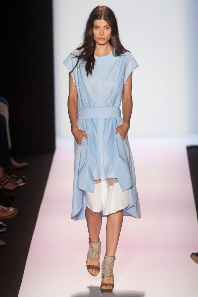 bcbg max azria spring 2014 8 5 Surprising New York Fashion Week Spring 2014 Trends
