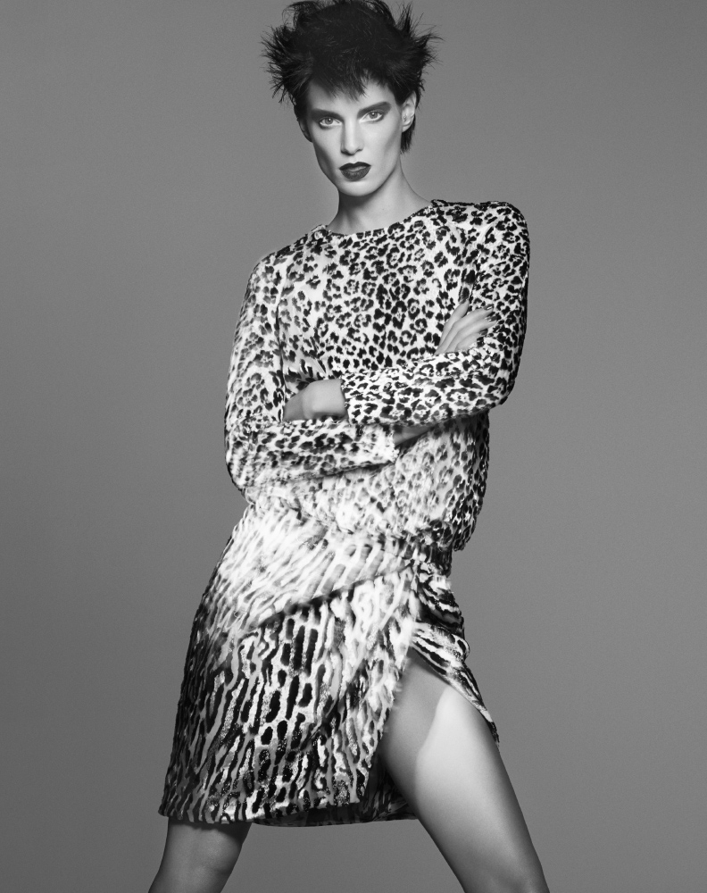 bergdorf print catalog14 Iris Strubegger Wows in Prints for Bergdorf Goodman Magazine Fall 2013