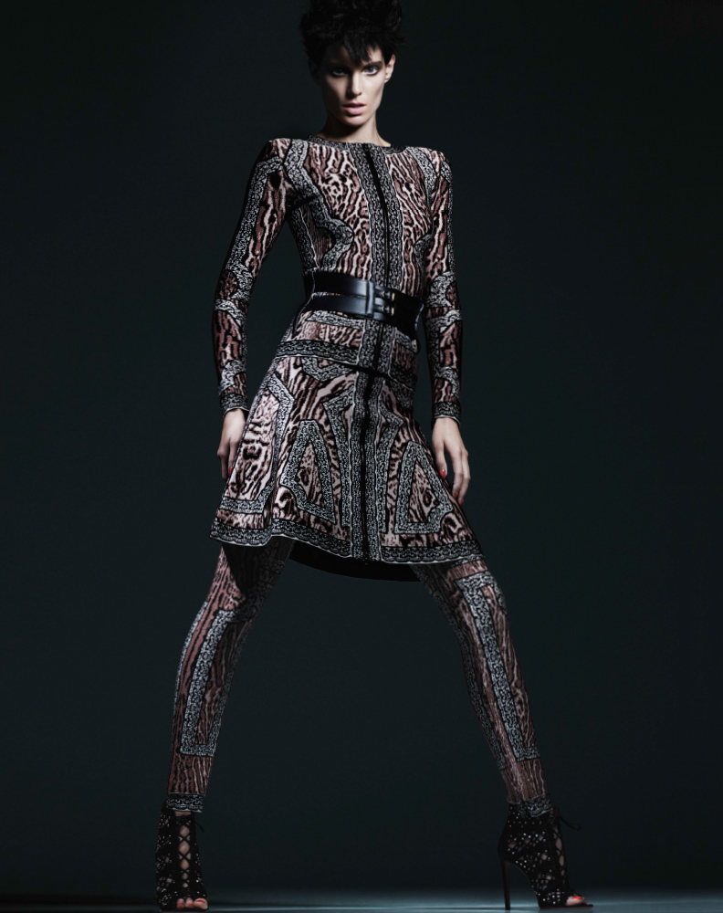 bergdorf print catalog16 Iris Strubegger Wows in Prints for Bergdorf Goodman Magazine Fall 2013