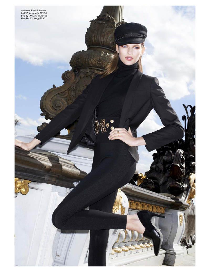 Bette Franke Stars in H&M Magazine Fall 2013 by Katja Rahlwes