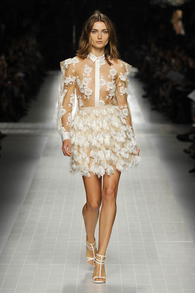 blumarine spring 2014 13 5 Amazing Milan Fashion Week Spring/Summer 2014 Trends