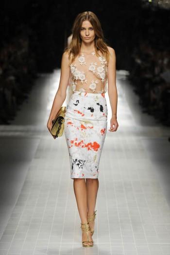Blumarine Spring 2014 | Milan Fashion Week