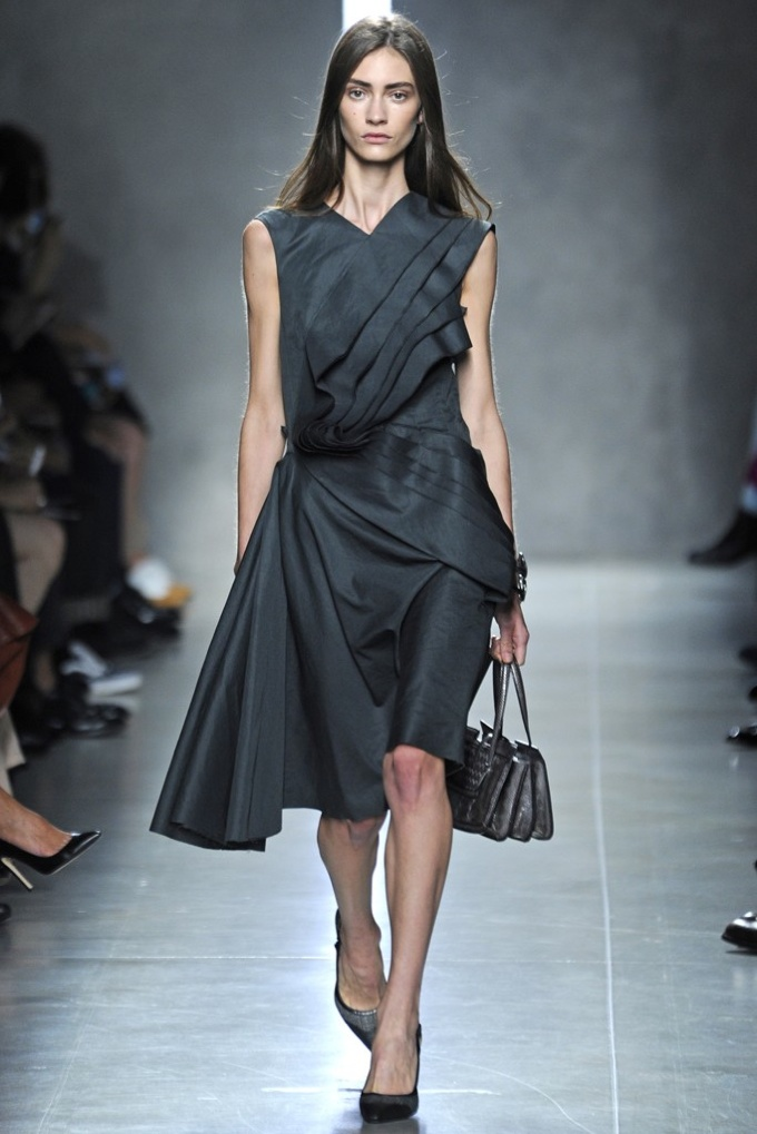 bottega veneta Milan Fashion Week Spring/Summer 2014 Day 4 Recap | Bottega Veneta, Jil Sander, Roberto Cavalli + More