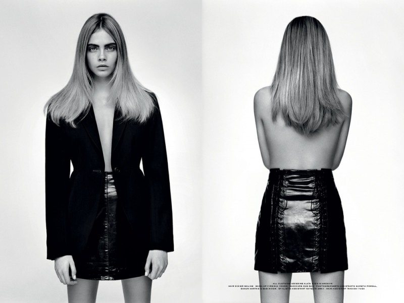 cara the idol5 800x601 Cara Delevingne Poses for Alasdair McLellan in Industrie #6
