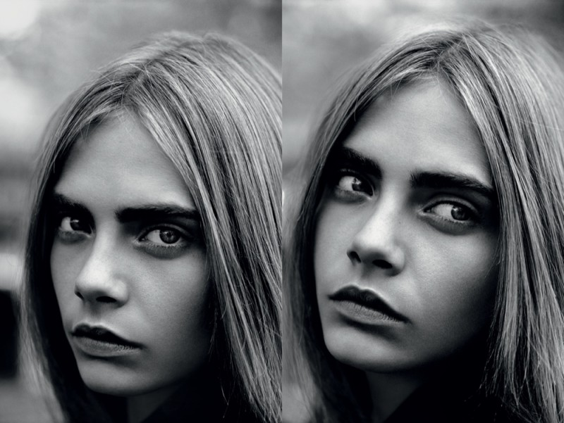 cara the idol7 800x601 Cara Delevingne Poses for Alasdair McLellan in Industrie #6