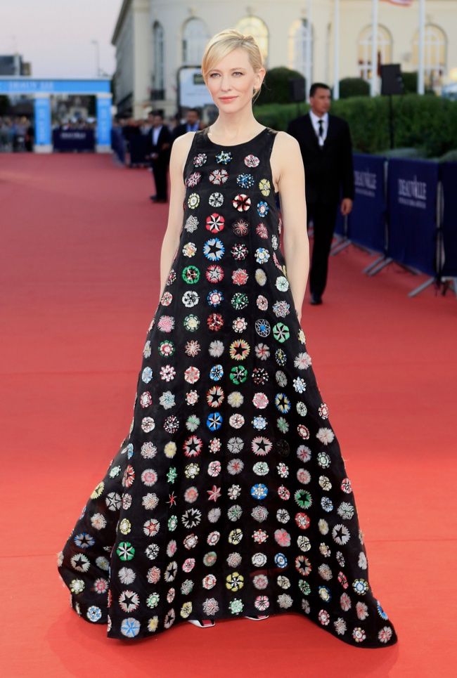 cate dior 11 Cate Blanchett Wears Dior Haute Couture at the 39th Deauville Film Festival