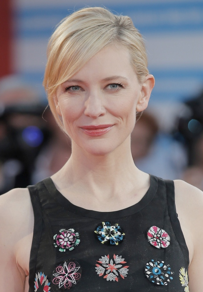 cate dior 3 Cate Blanchett Wears Dior Haute Couture at the 39th Deauville Film Festival