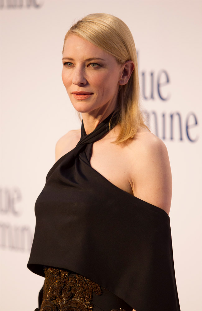 cate givenchy Cate Blanchett Wears Givenchy Haute Couture at the Blue Jasmine London Premiere