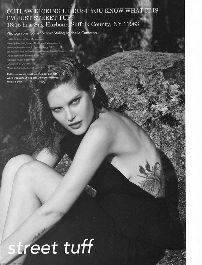 catherine mcneil photos1 Catherine McNeil Takes it Easy for i Ds Fall Issue by Collier Schorr